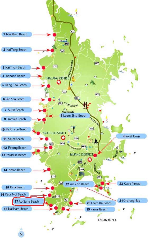 Karta Thailand Patong.En Manad I Thailand Froken Turkos