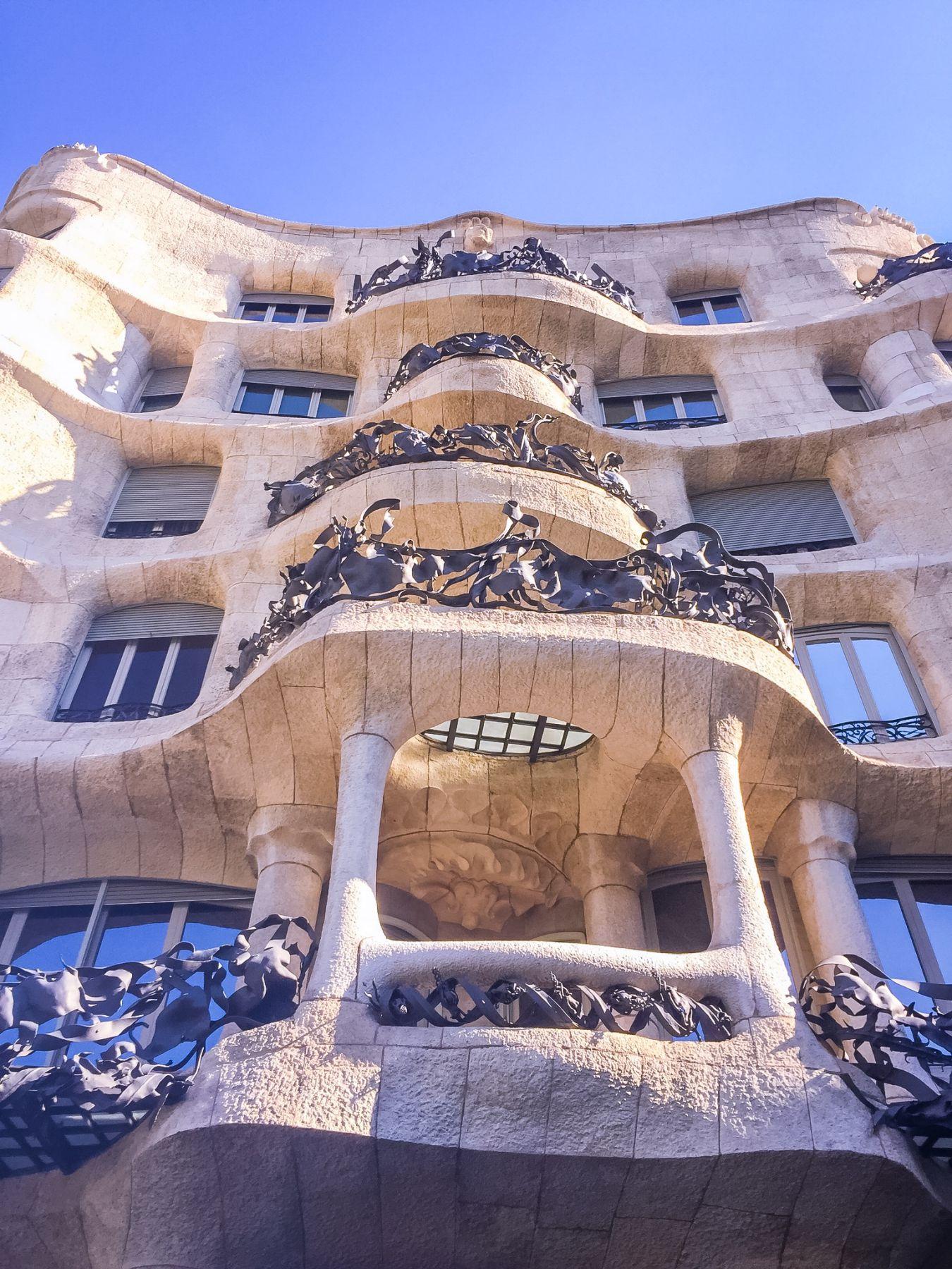 Casa Milá i Barcelona
