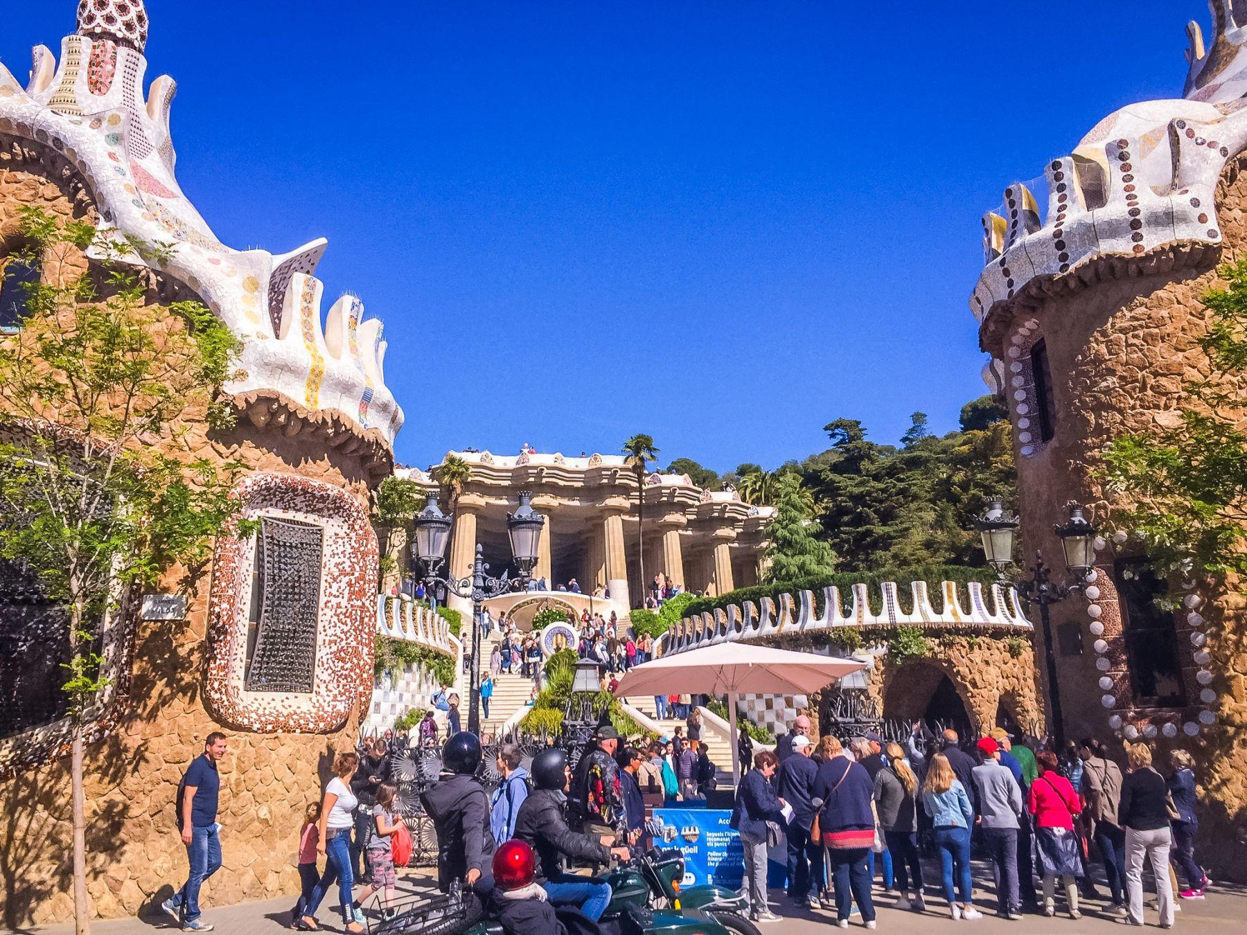 Parc Güell i Barcelona