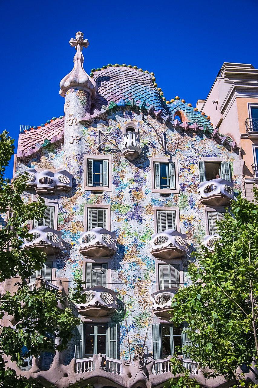 Casa Battló i Barcelona