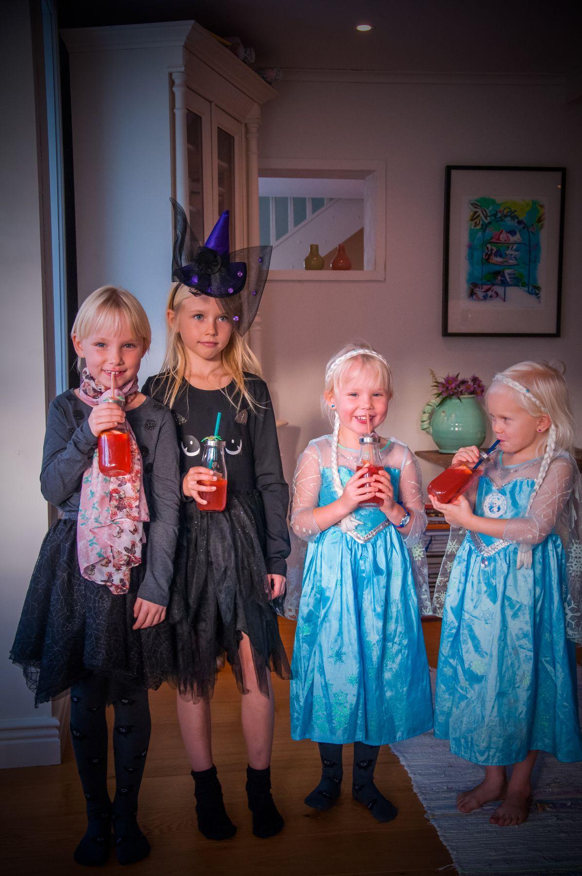 Halloween gäster