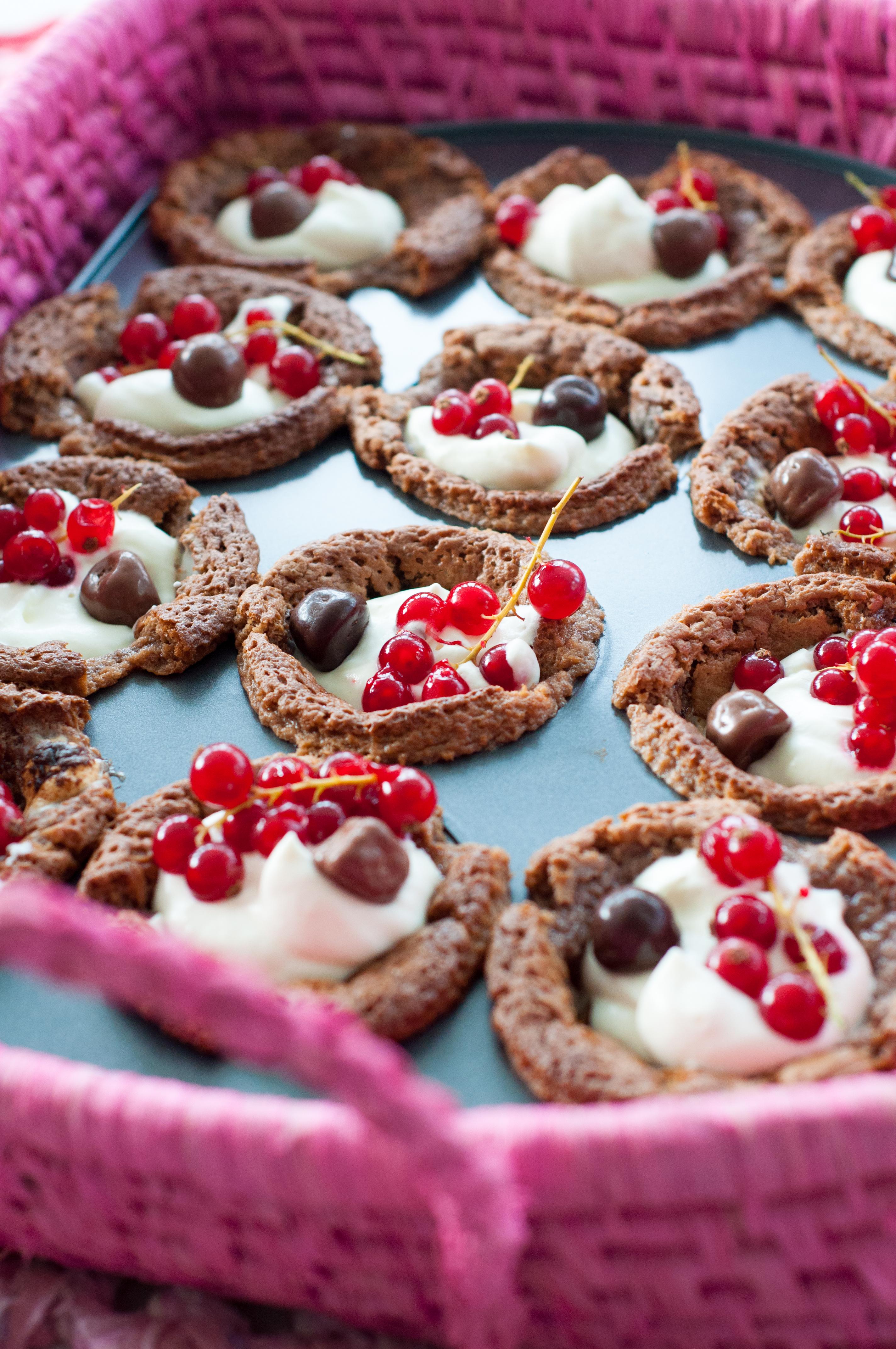 Kladdkake muffins - Fröken Turkos, Miss Turquoise