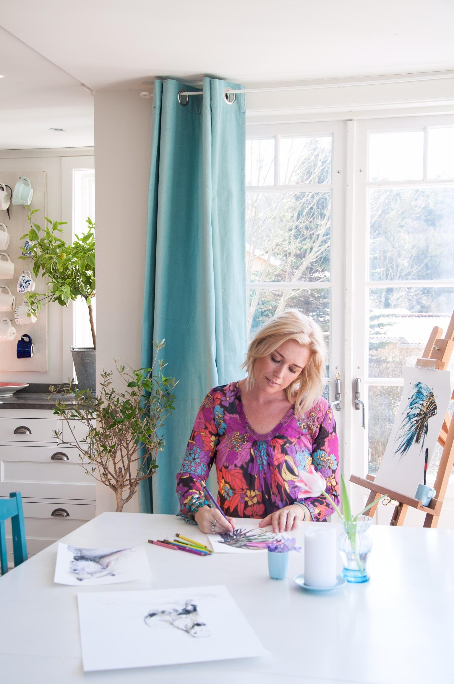 Fröken Turkos - Miss Turquoise webshop - Art http://frokenturkos.tictail.com