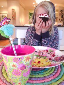 Pimpa din cupcake