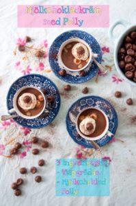 Mjölkchokladkräm med Polly