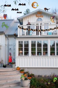 Därför firar vi Halloween | Så gör du dekorationerna till festen