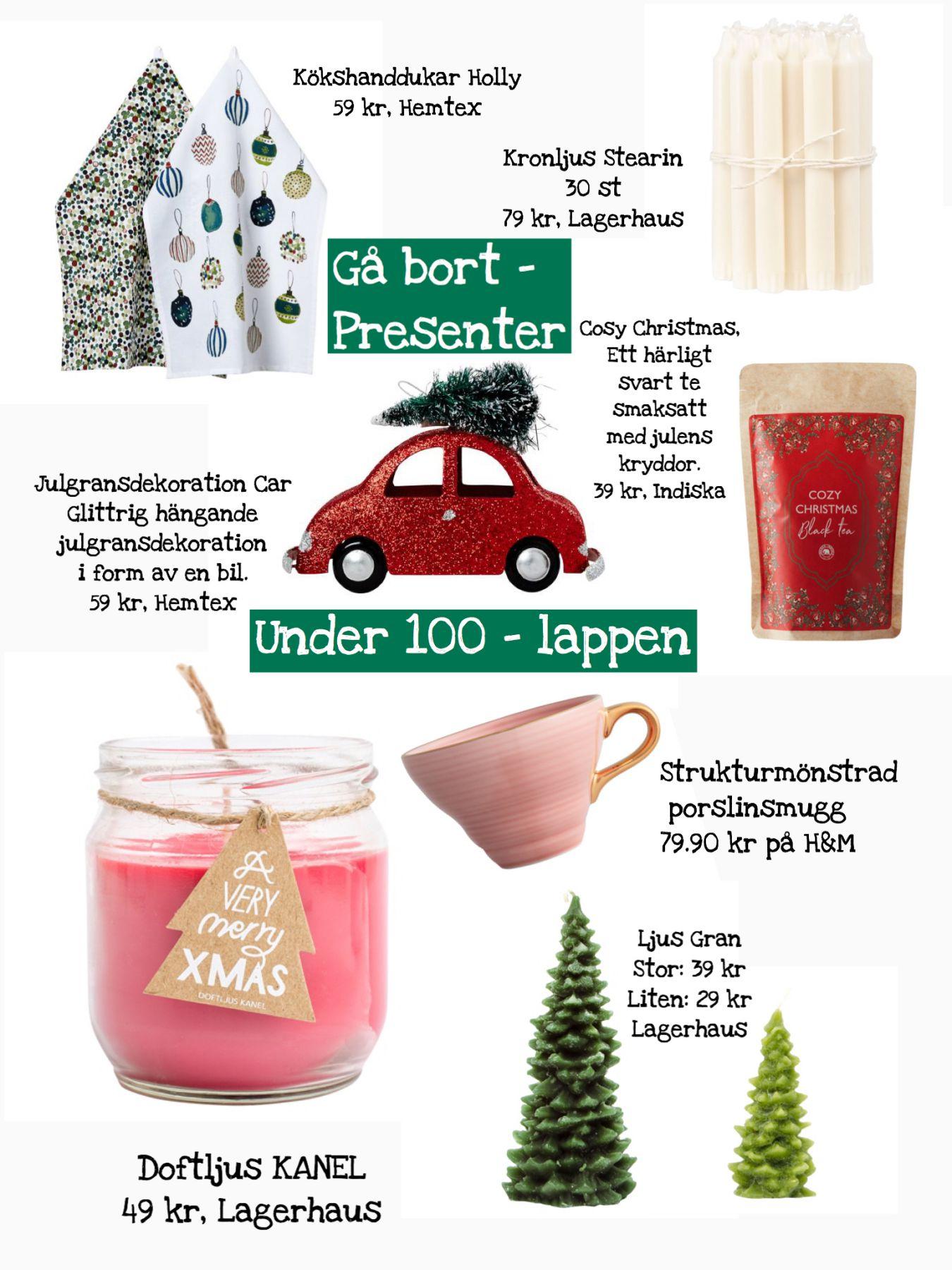 Gå bort presenter