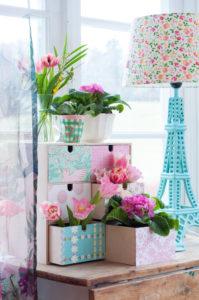 DIY – Ikea moppe förvaring blir färgglad byrå
