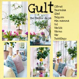 Skapa vårkänsla med hjälp av pastellfärg, blommor och textilier
