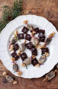 Chokladkola med havssalt