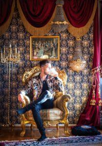 Ett gyllene hem – värdigt en kung!