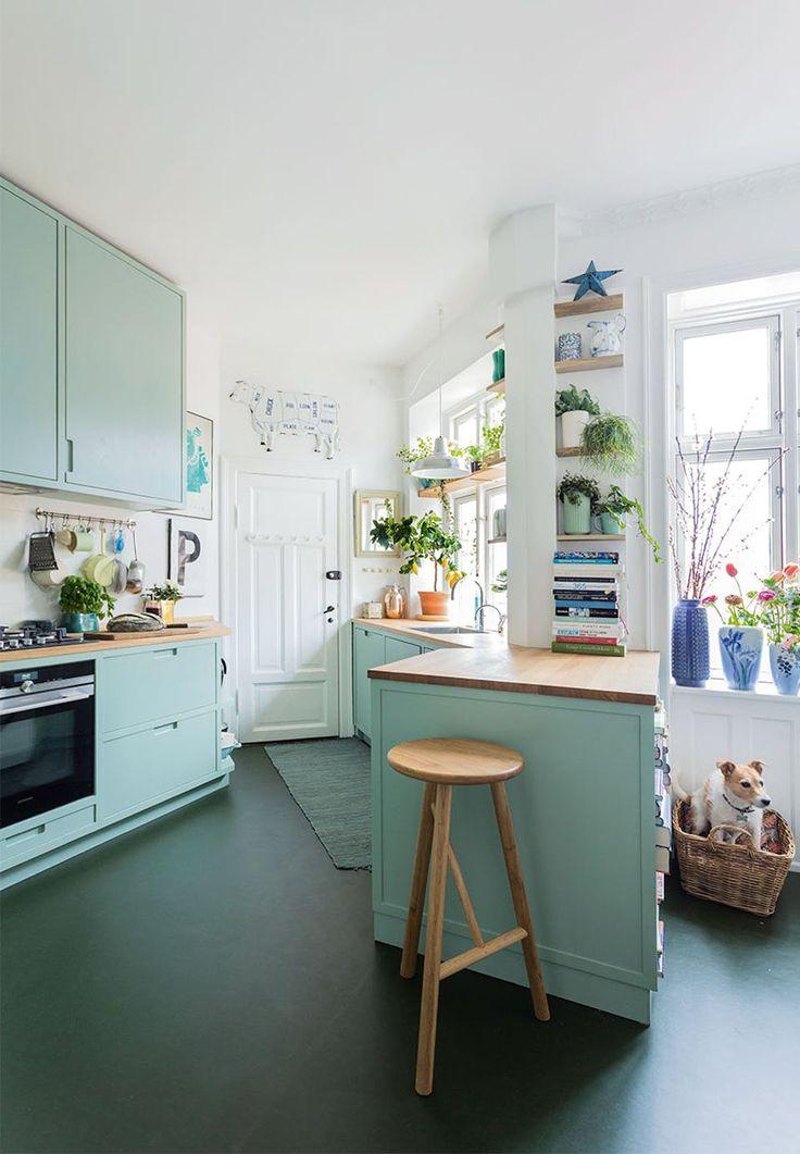 Färgstarkt kök - Fröken Turkos