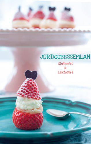 Välkommen lilla jordgubbssemla – Glutenfri, saftig och superenkel att göra!