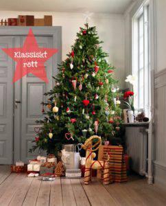 Klä din julgran – 4 färgglada stilar