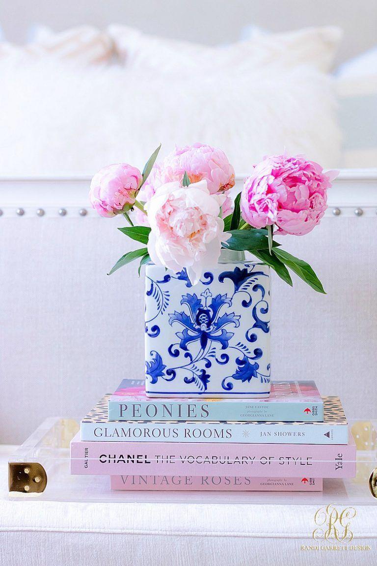 Inred med vaser i blåvitt porslin - Fröken Turkos