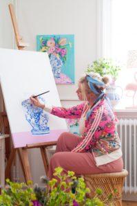 Passion för färg - Fröken Turkos