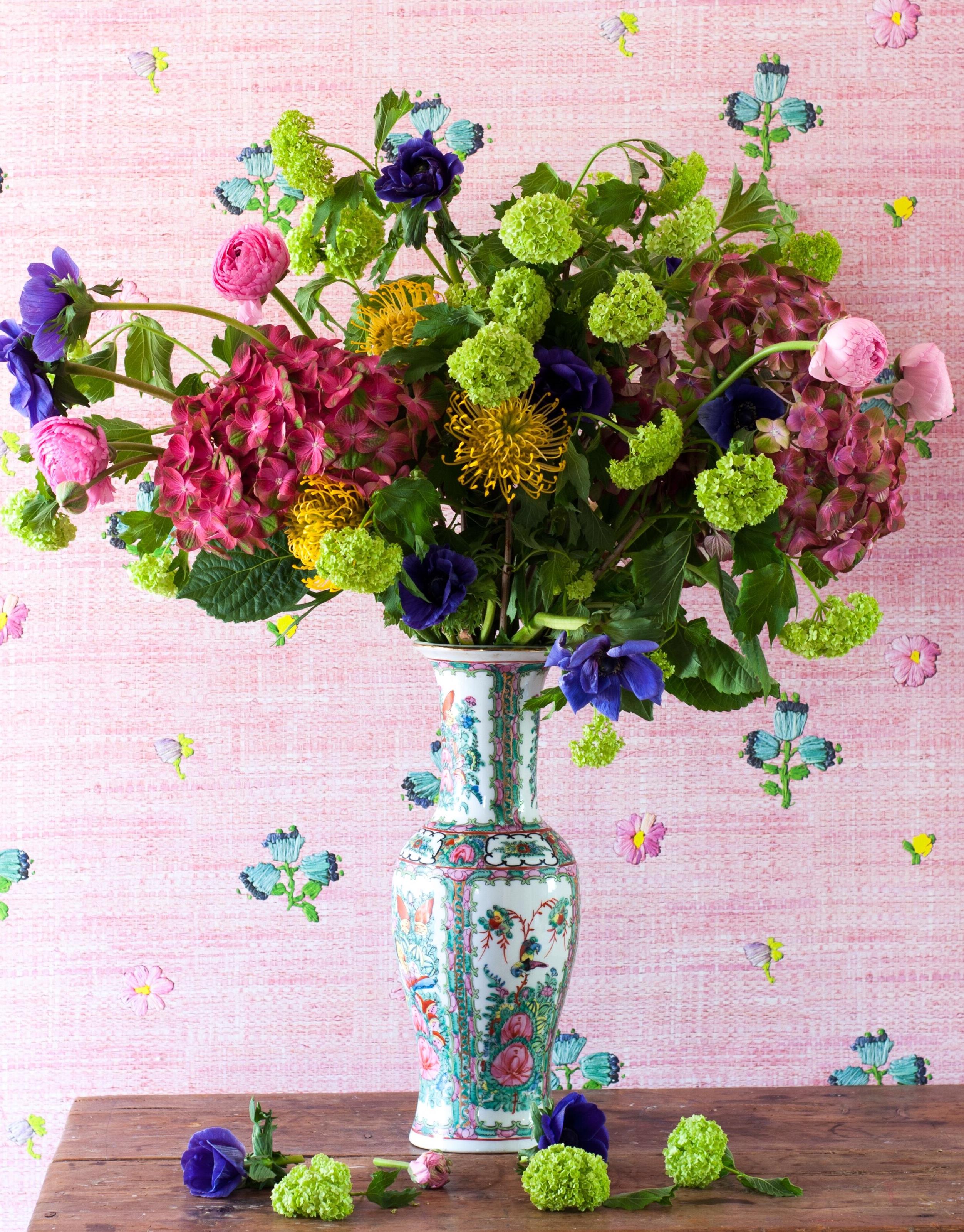 Skapa en vacker vårbukett - Fröken Turkos