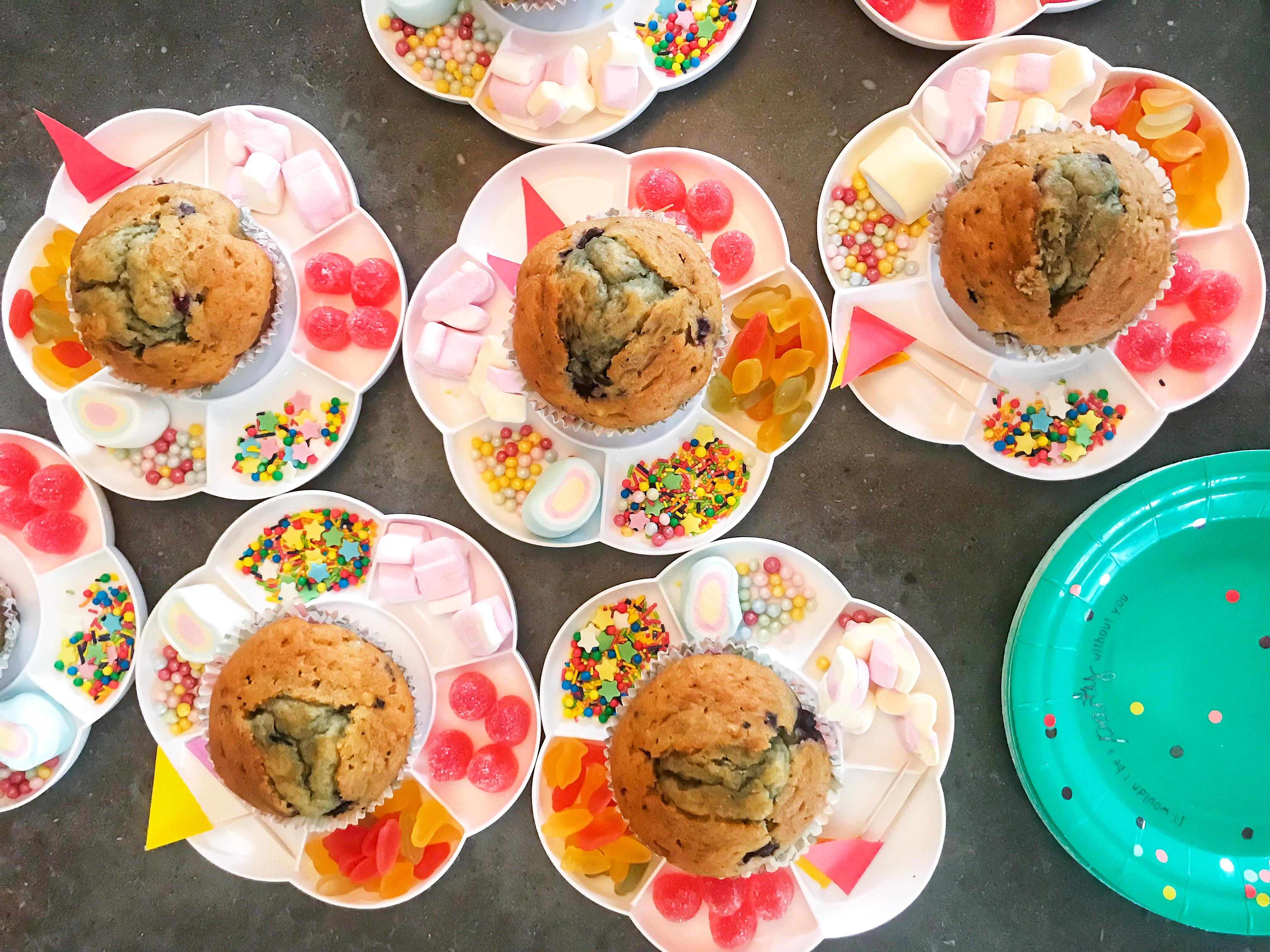 Cupcake kalas - Fröken Turkos