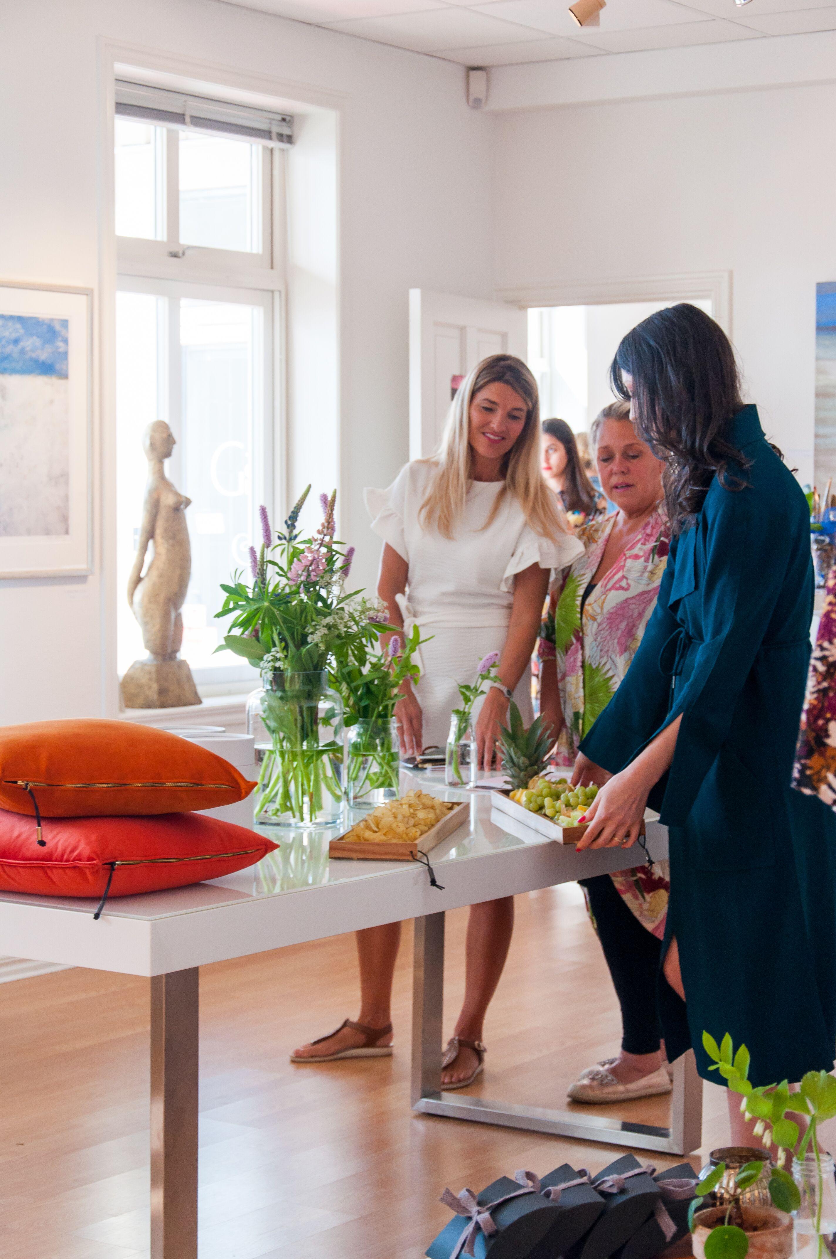 Mille W Nordisk Design, Ulrika Sohtell och Daniella från Something Borrowed - det kvinnliga nätverket Studio 25 Foto: Leonor Juhl K