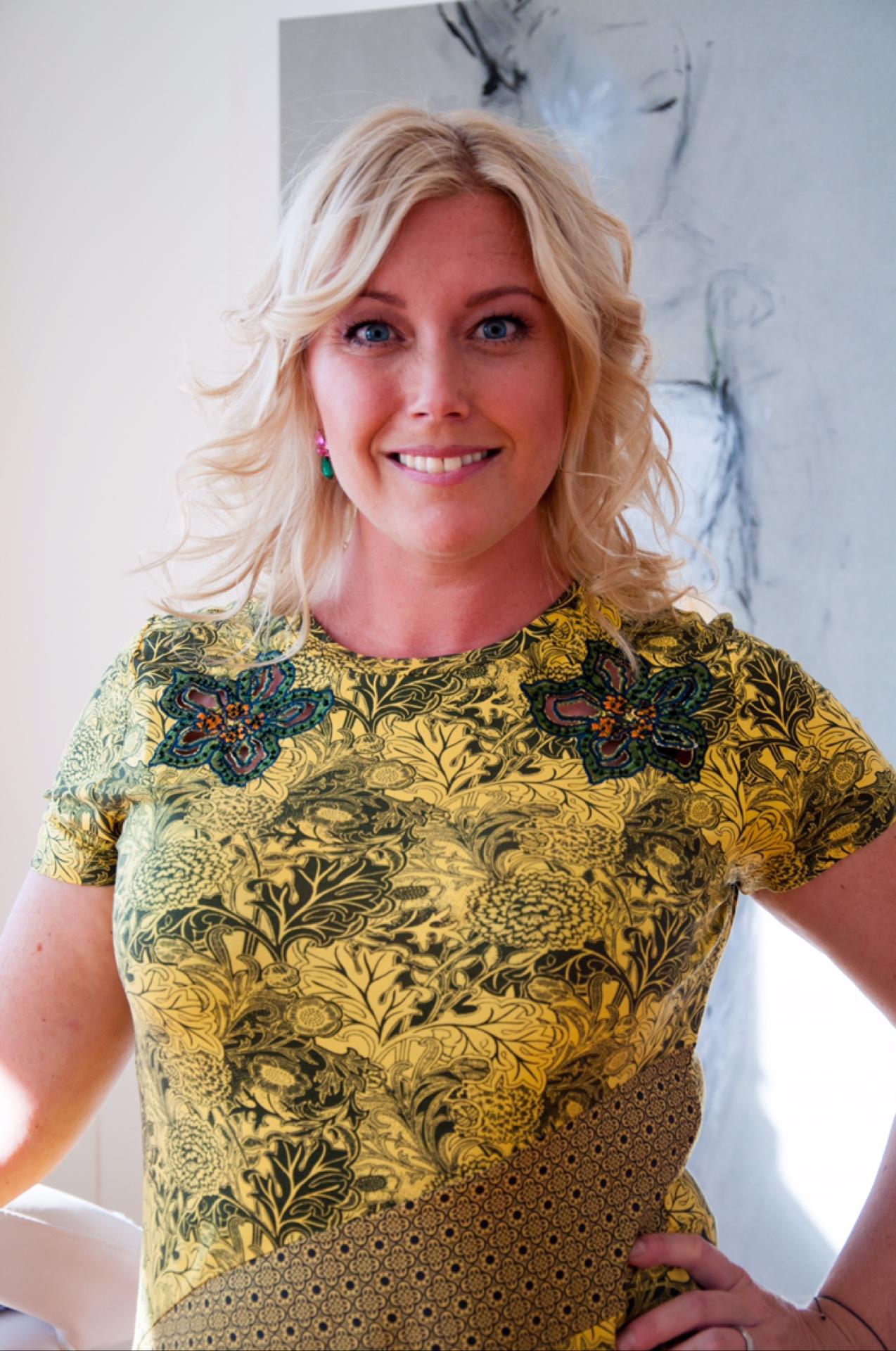 Leonor Juhl K, Fröken Turkos - det kvinnliga nätverket Studio25. Foto: Victoria Bartley