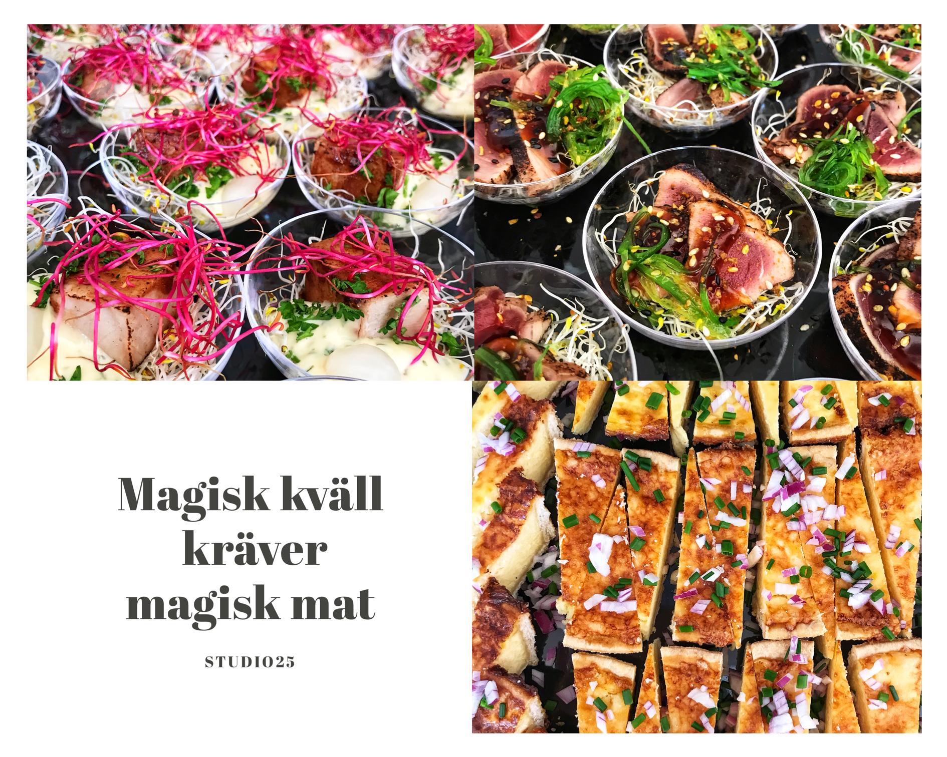 Magisk kväll kräver magisk mat - Foto: Leonor Juhl K