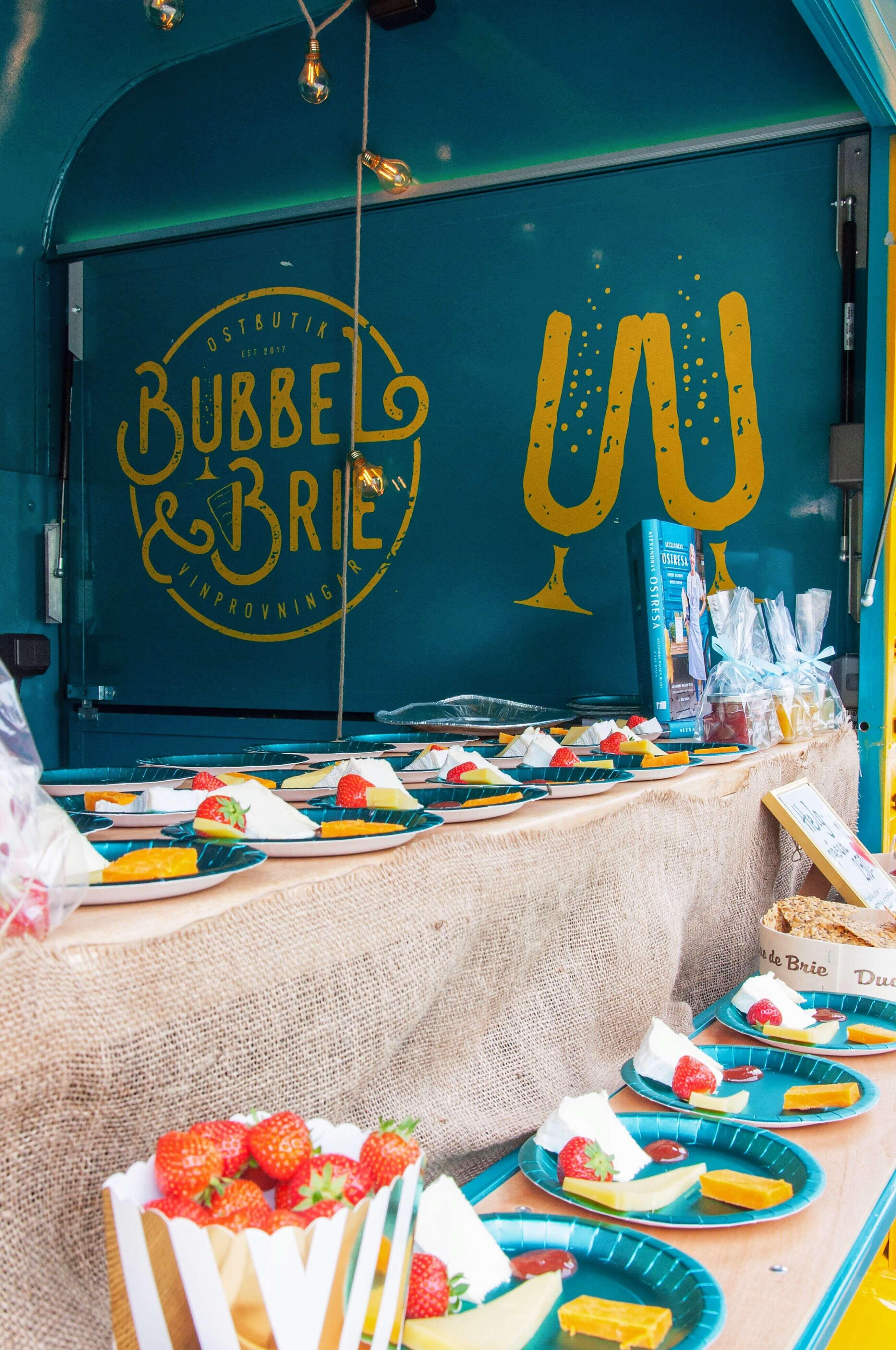 Sommarfest med Bubbel och Brie - Fröken Turkos , Leonor Juhl K