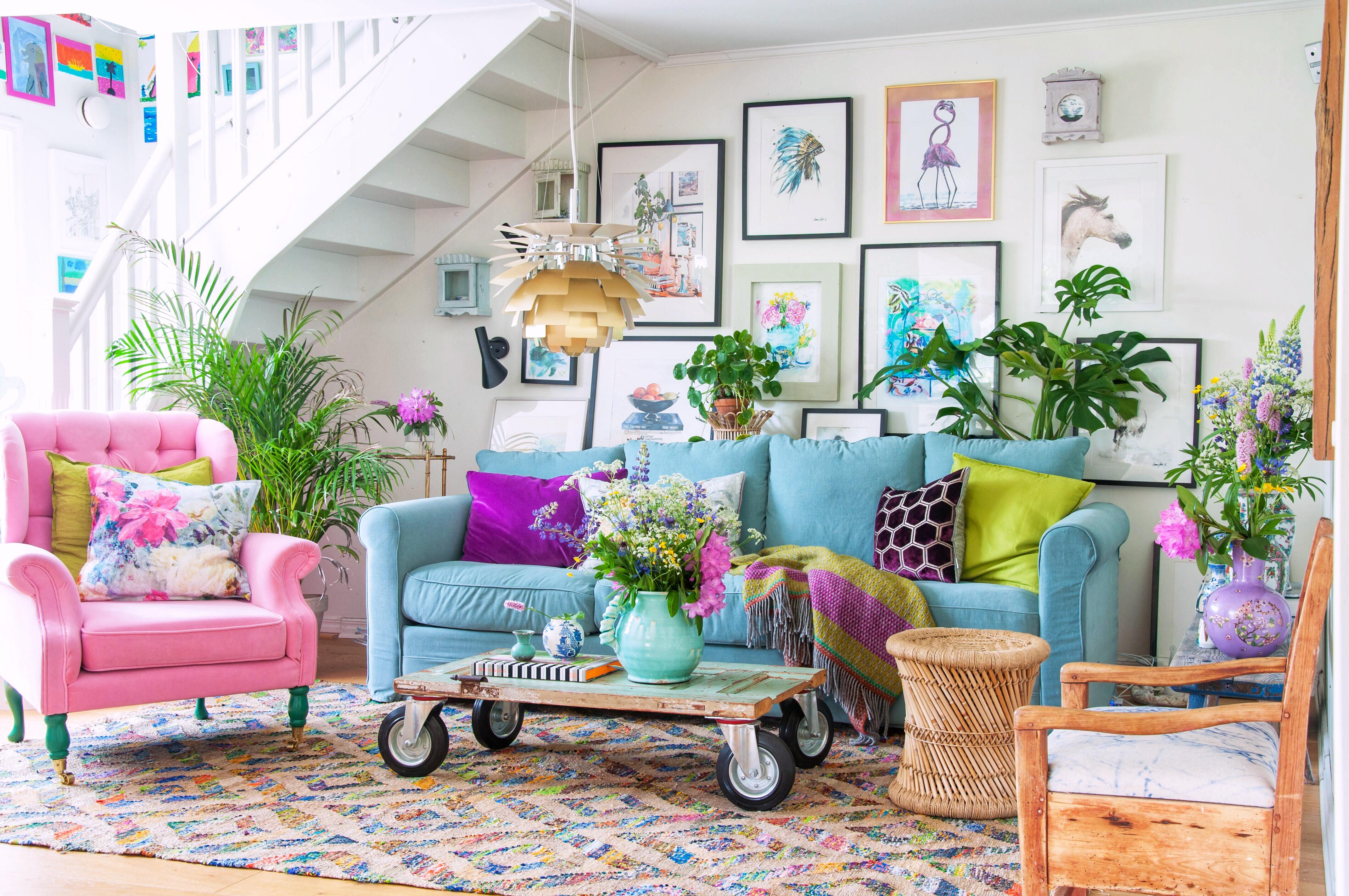 Hur du skapar vackra färgkombinationer, färglära, Designers Guild, Fröken Turkos - Leonor Juhl K