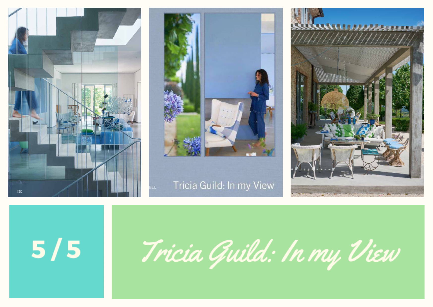 In my View av Tricia Guild, Designers Guild