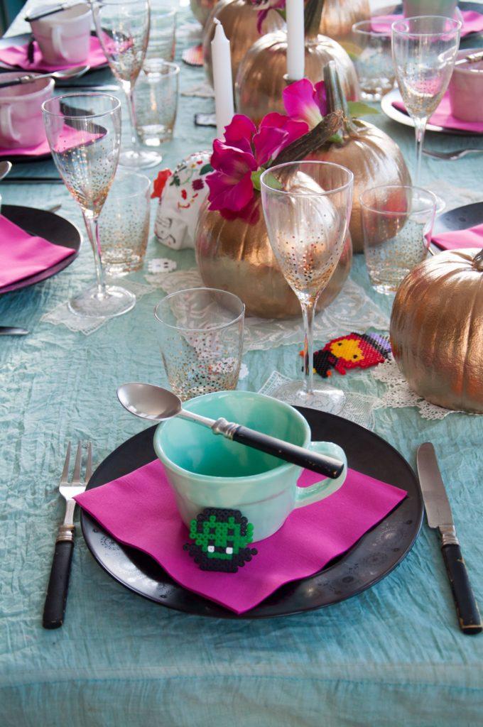 Pärla pärlplattor till Halloween. Foto: Leonor Juhl K