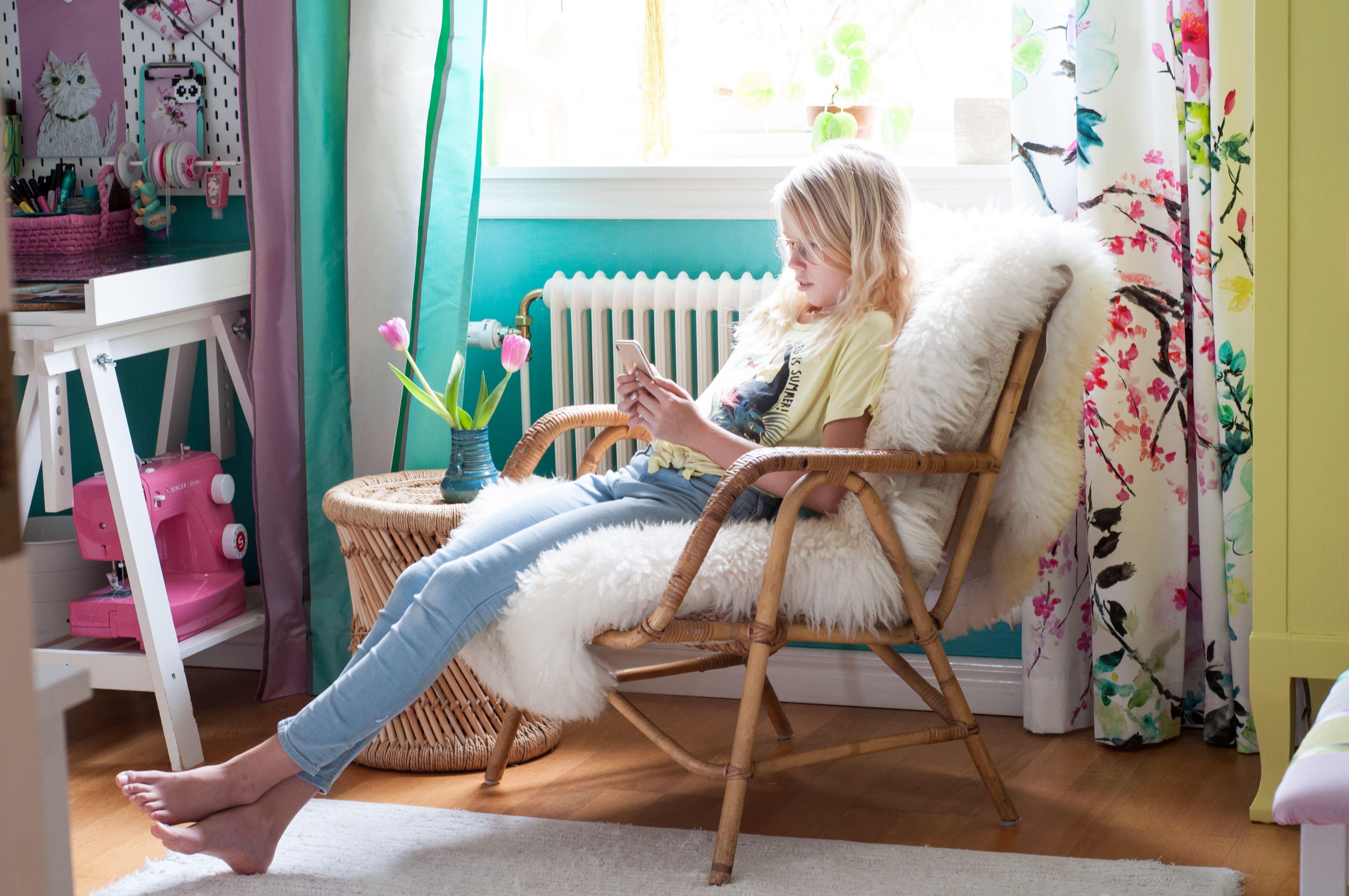 Från barnrum till tweenierum - Hur du inreder ett sovrum till din tweenie av Leonor Juhl K, Fröken Turkos
