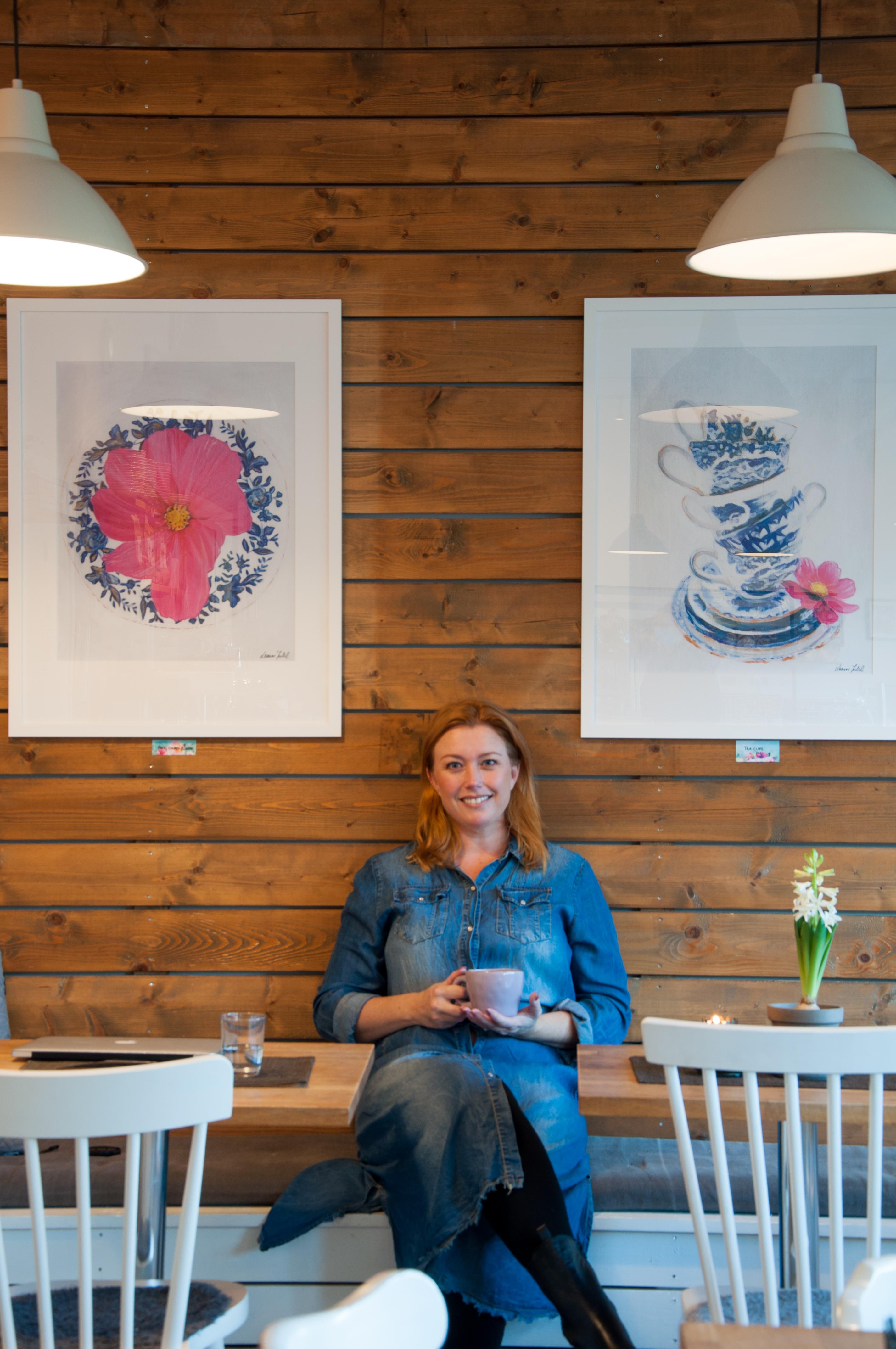 Konstnären Leonor Juhl - Fröken Turkos